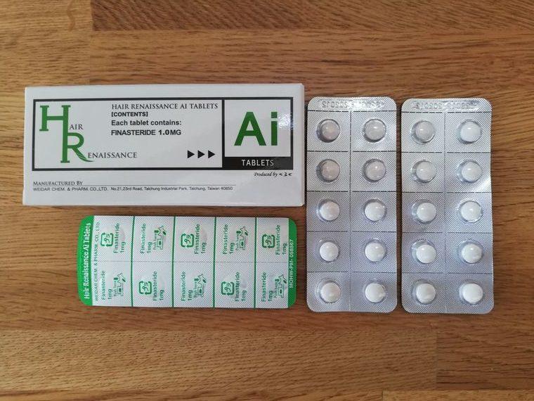 フィナステリド錠剤